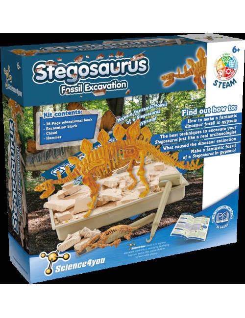 Stegosaurus - Fossil...