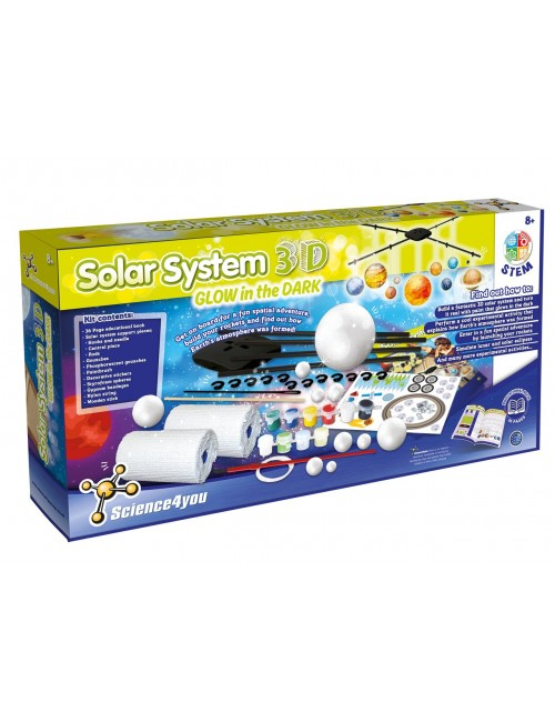 Solar System 3D - Glow In...