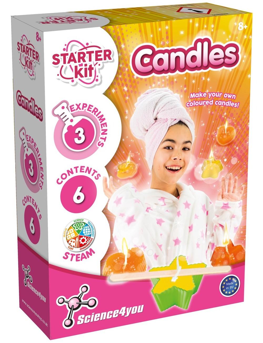 Candle Making Kit Kids