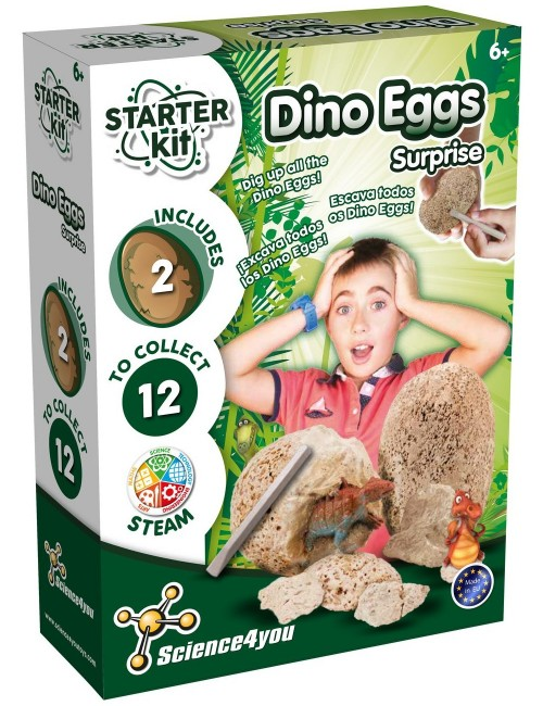 Starter Kit Dino Eggs Surprise