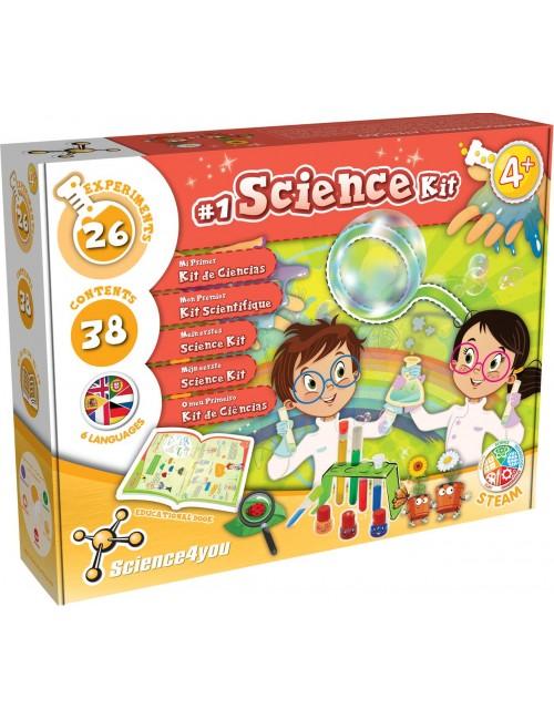 1º Kit de Ciências -...
